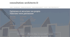 Preview of consultation-architecte.fr
